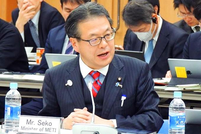 日本經濟產業大臣世耕弘成(圖片來源:世耕弘成官方網站)