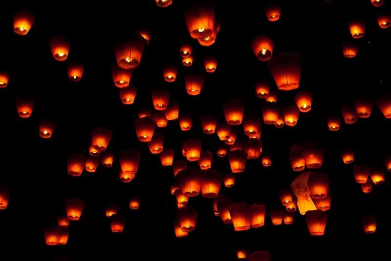 2018 Pingxi Sky Lantern Festival in New Taipei to take place on Lantern Festival Day and Mid-Autumn Festival