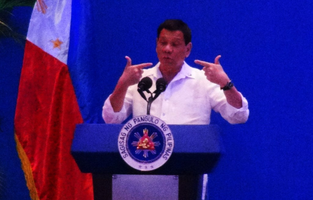 President Duterte makes light of sovereignty.