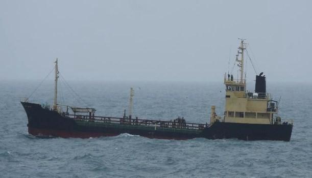 北韓船隻「Yu Jong 2號」(圖片來源:日本外務省網站)