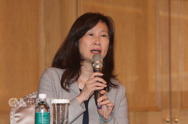 辜懷如22日下午在台北召開記者會對外說明。中央社