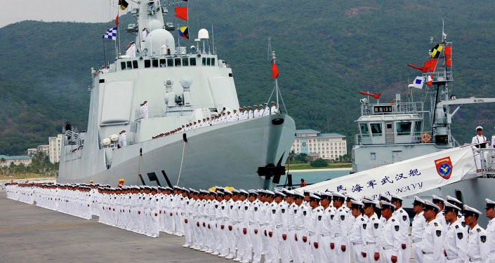 China's Navy active overseas.