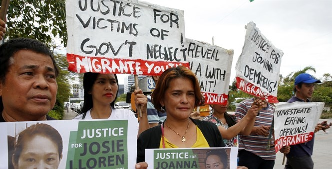 Arrest made in Kuwait over murder of Filipina maid