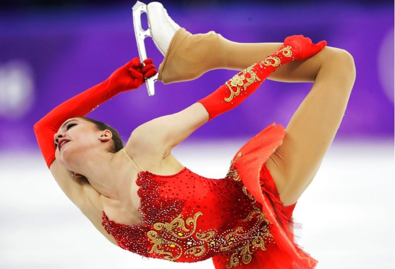 Alina Zagitova奪得金牌。美聯社