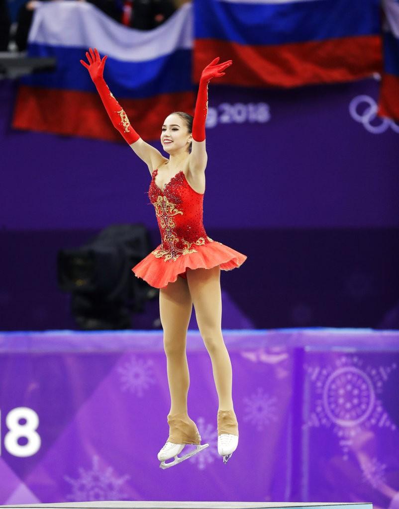 【平昌冬奧】15歲滑冰美少女 為俄羅斯奪下首金