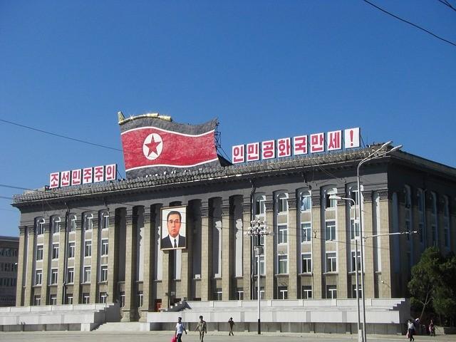 北韓金日成廣場(照片來源:conan_mizuta/Flickr)