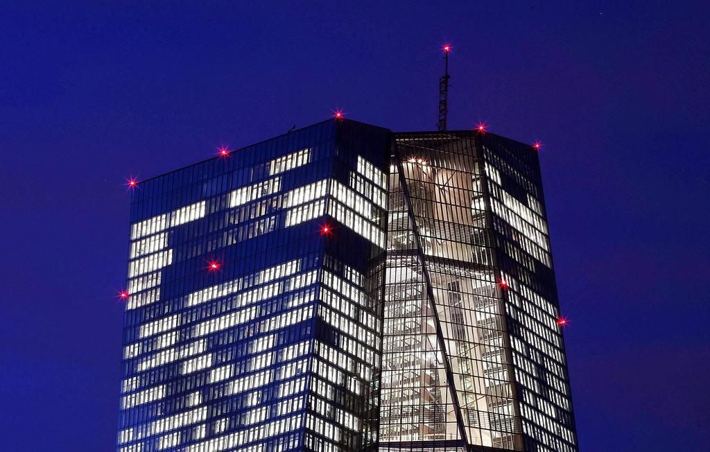 歐洲央行總部(圖片來源:美聯社)