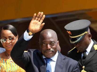 剛果民主共和國總統約瑟夫·卡比拉(圖片來源:美聯社)