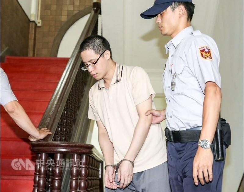 張彥文被控性侵、當街砍死前女友,高院1日針對殺人罪做出更一審判決,張彥文遭判刑15年。(中央社檔案照片)