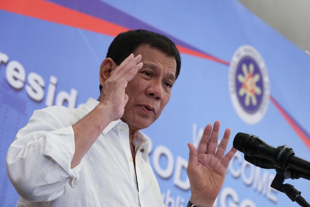 Duterte tells Philippines police not to cooperate with probes into drug war