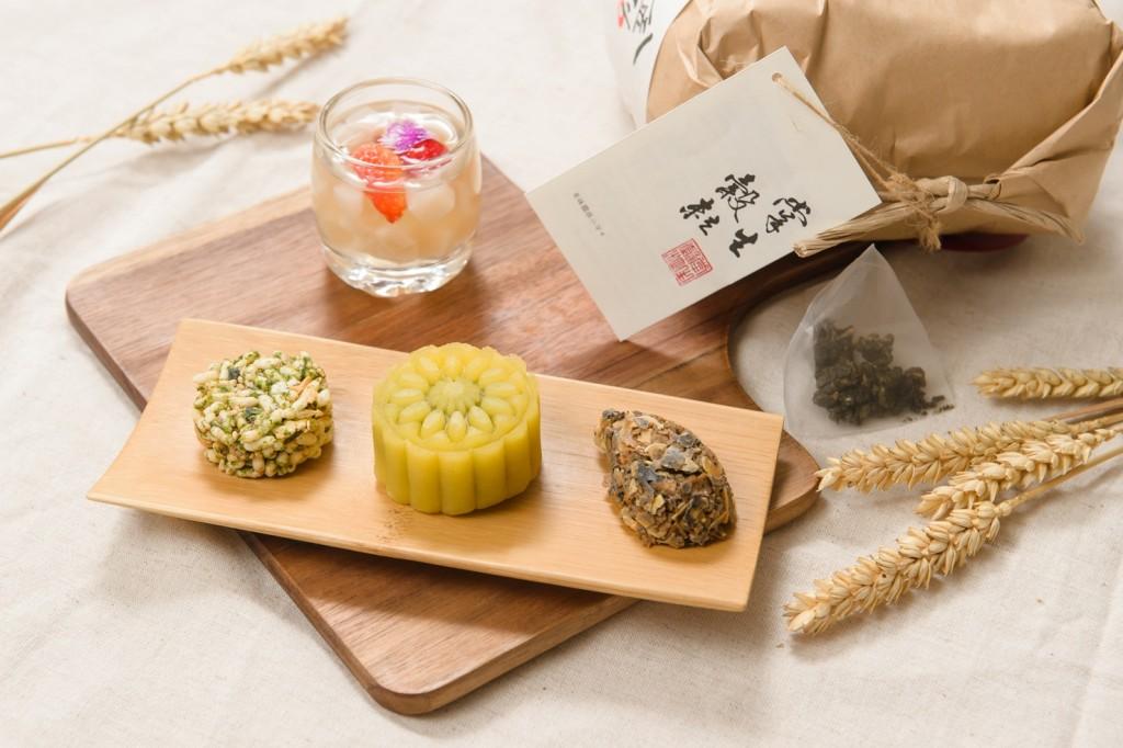 新竹喜來登 旺年首發「掌生穀粒」聯名午茶