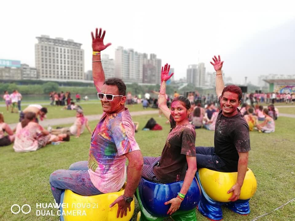 印度好麗節在台北綠光森林登場(照片:馬諾基(Manoj Kriplani)提供)