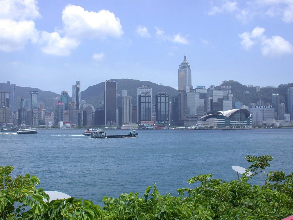Hong Kong skyline (Pixabay/stinne24)