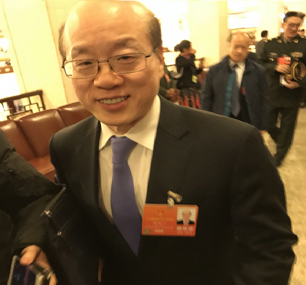 Liu Jieyi, Dep. Director of the Taiwan Affairs Office of the State Council. March 5
