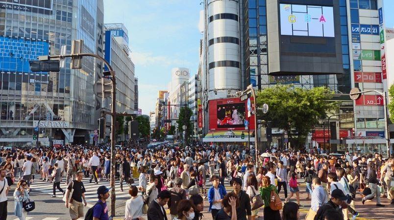 東京渋谷(圖片來源:pixabay.com)