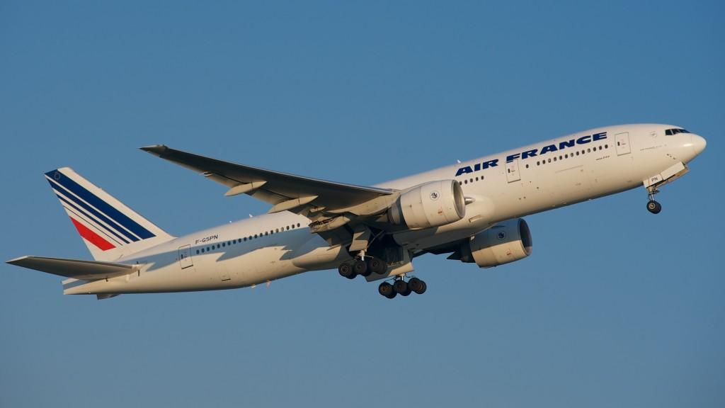 Air France Boeing 777-200.