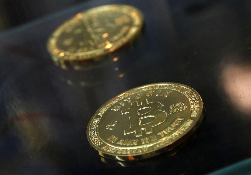 虛擬貨幣示意圖(圖片來源:美聯社)