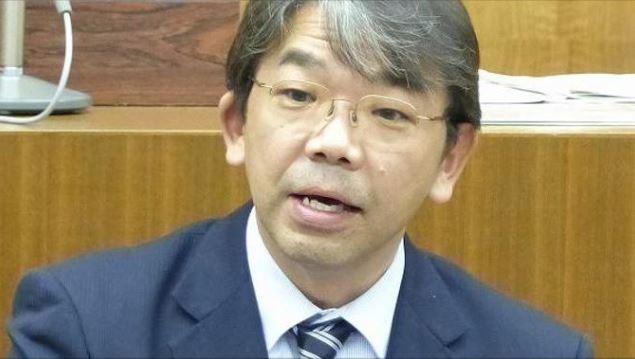 東京澀谷區立憲民主黨議員芦沢一明(圖片來源:翻攝自芦沢之推特)