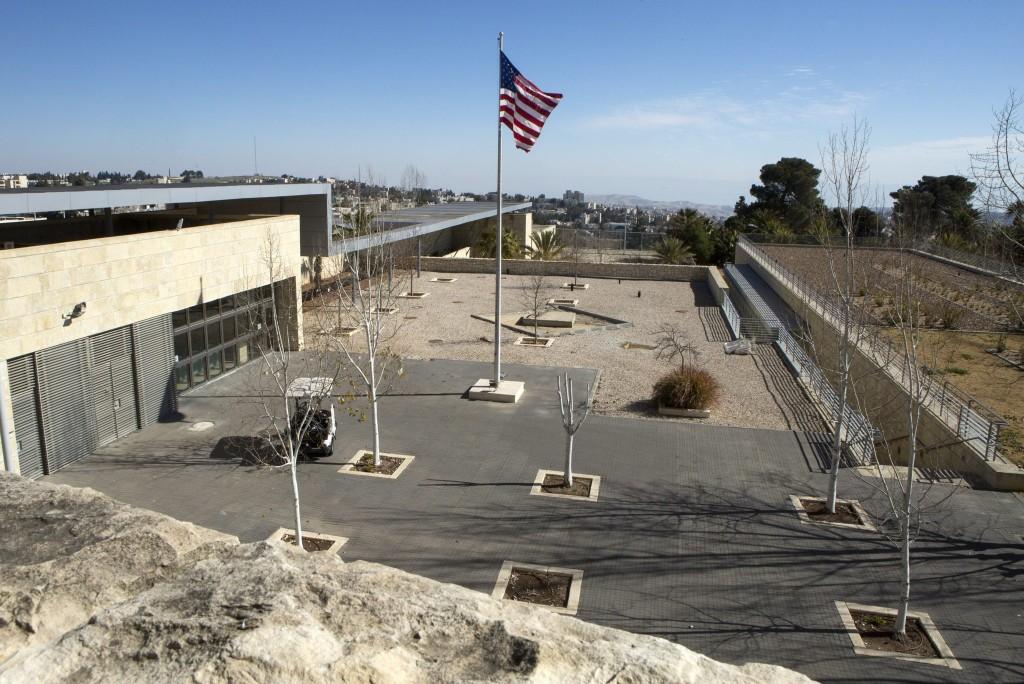 美國駐以色列新大使館將設在耶路撒冷。 (翻攝 US Embassy Jerusalem Twitter)