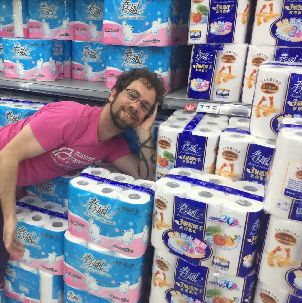 Photo of the Day: End of the roll for Taiwan toilet paper panic