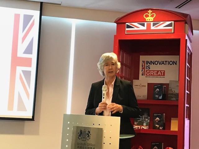 Catherine Nettleton, representative of British Office Taipei (Teng Pei-ju/Taiwan News)