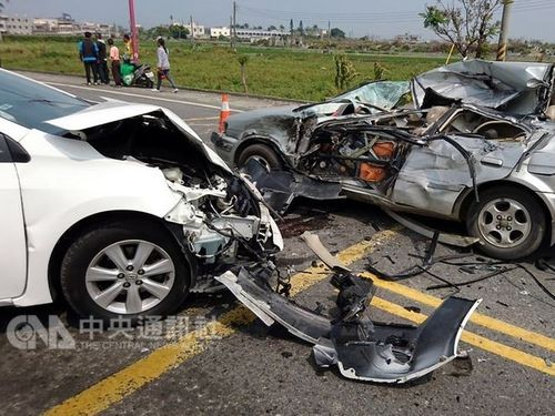 Indonesian woman dies in a collision on south    | Taiwan News