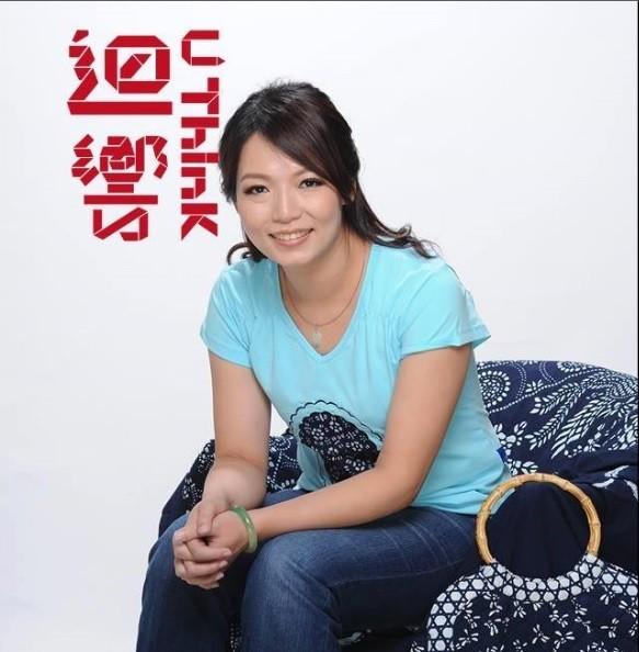 圖為「台灣藍」藍染服飾創辦人魏籤懿 。翻攝TEDx官方臉書