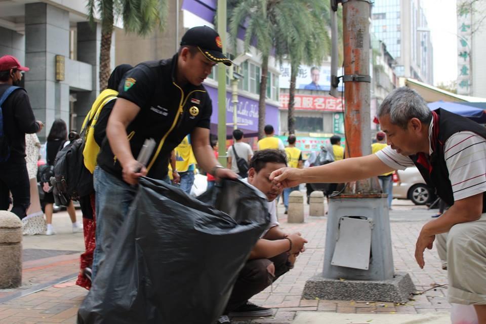 30名印尼移工自發性清掃綠川周遭環境,獲得一致好評(圖片來源:國立暨南大學SEAT|南方時驗室)