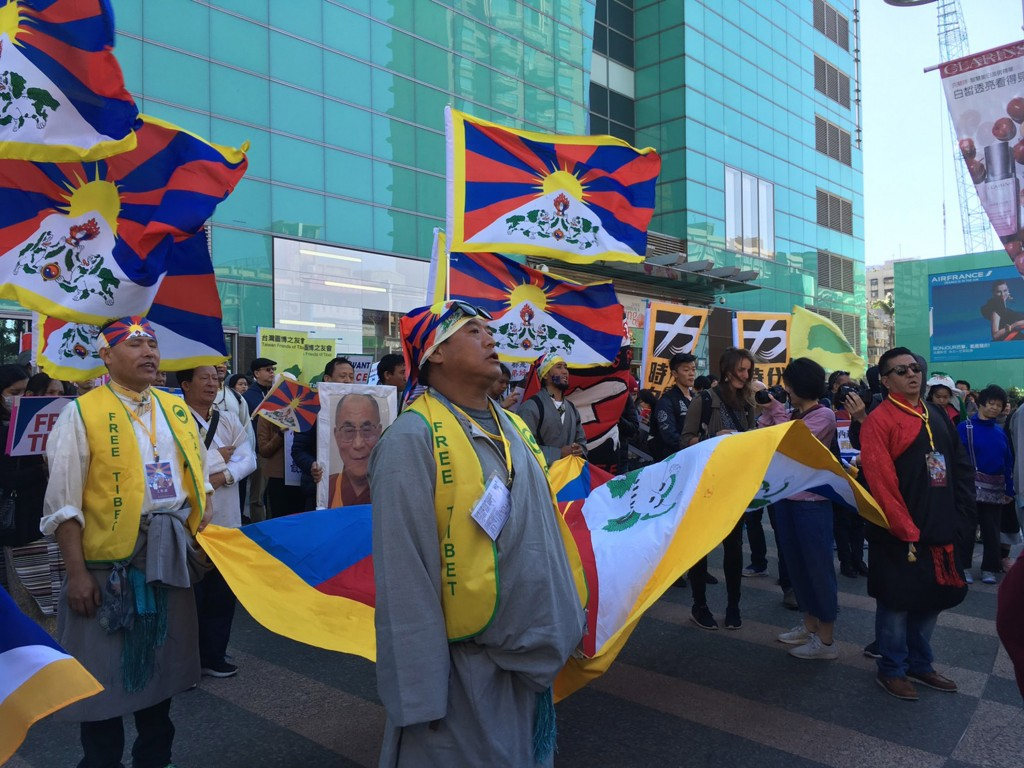 2018 Tibetan Uprising Day march