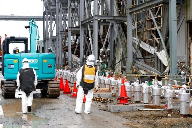 圖為日本福島核電廠2014年檔案照片。美聯社