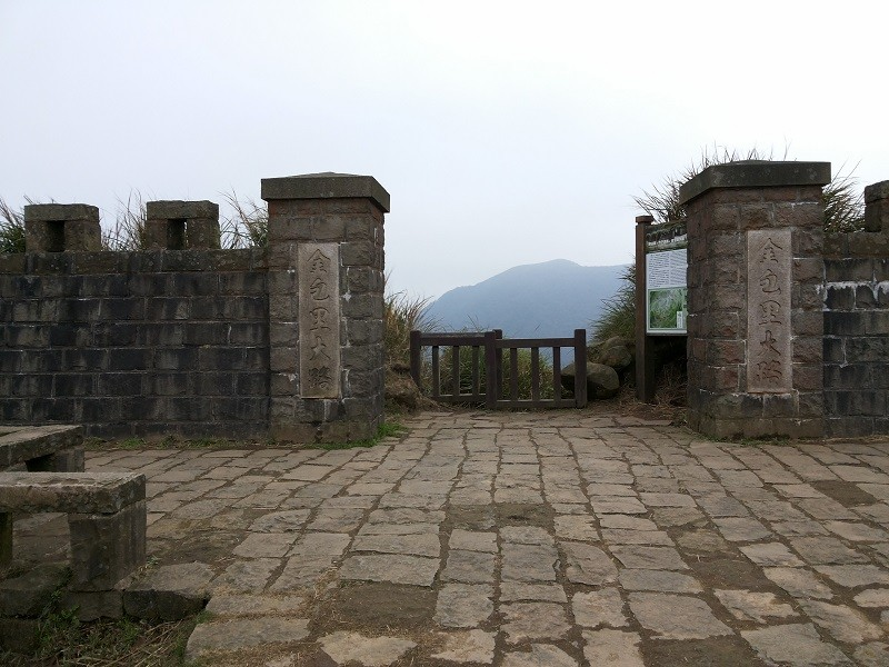 The Jinbaoli Trail gate