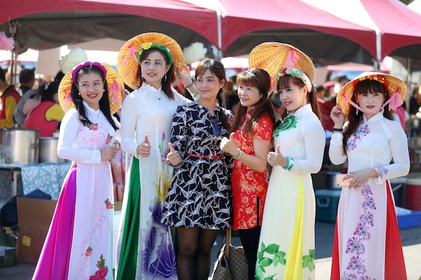 A carnival celebrating new immigrants in Taiwan was held on March 11 in New Taipei City (Photo courtesy of New Taipei City Government)