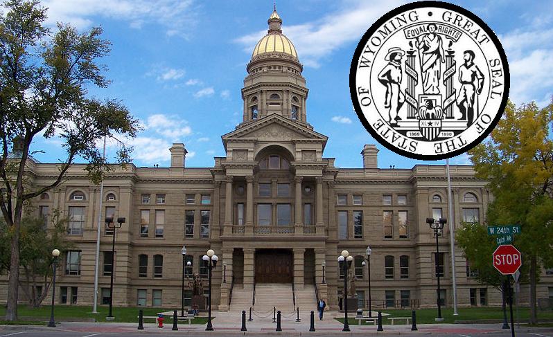 Wyoming State Capitol; Cheyenne, WY, USA