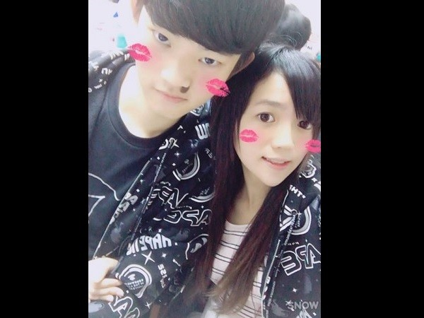 Chen (left), Pan (right). (Photo from Chen's Facebook page)