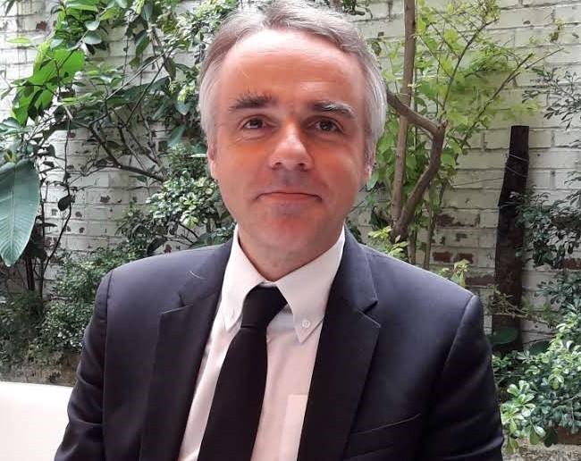 法國在台協會主任紀博偉(Benoît Guidée)