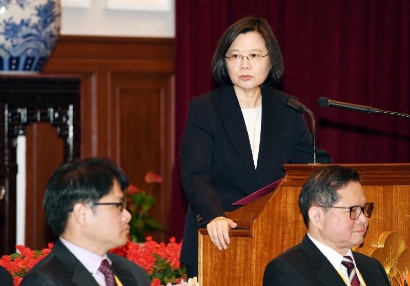 總統蔡英文(照片來源:中央社提供)