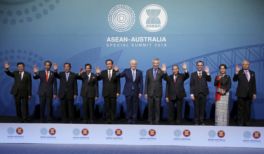 Australia is hosting leaders from the 10-country Association of Southeast Asian Nations during the 3-day special summit