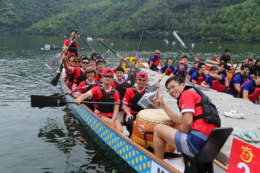 The second annual 2018 Hualien Pacific International Dragon Boat Race is a grand success.