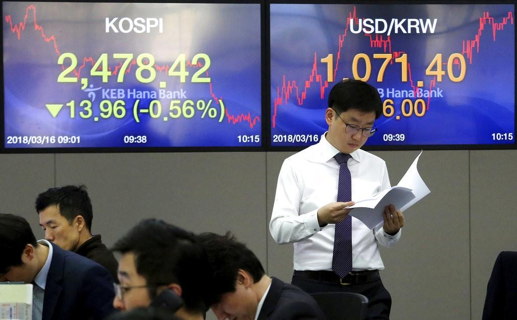 南韓市場示意圖(圖片來源:美聯社)