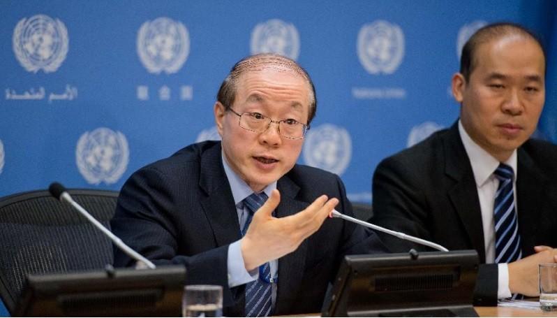 左為劉結一。翻攝中國網路