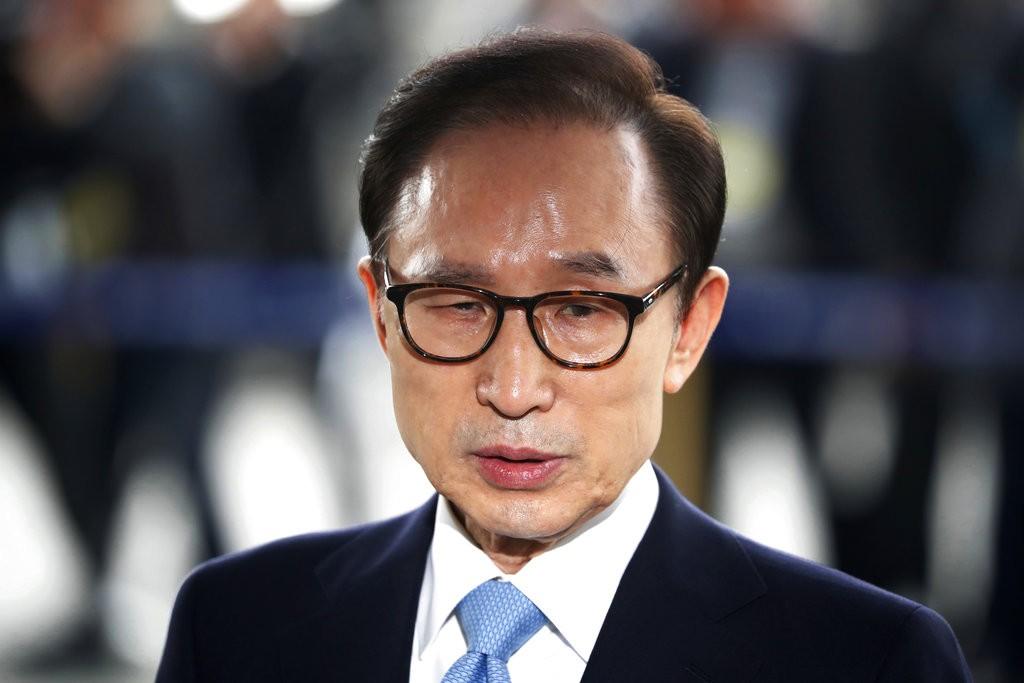 南韓前總統李明博(圖片來源:美聯社)