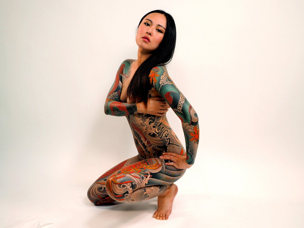 Mature asian tattoo think, what