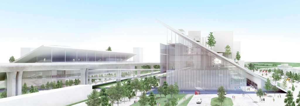 The Taoyuan Art Museum selected a building design winner. (Image from Riken Yamamoto)