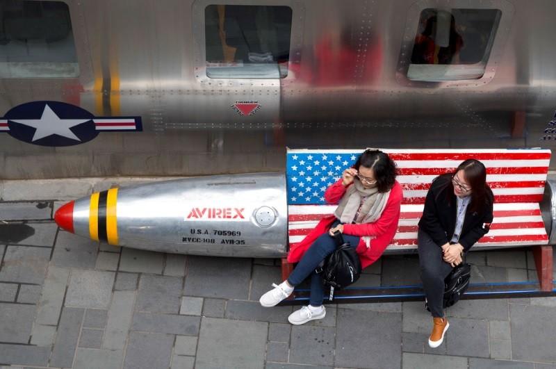 圖為北京街頭。美聯社