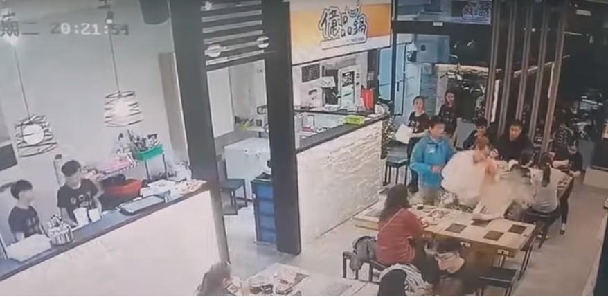 Screengrab from CCTV footage