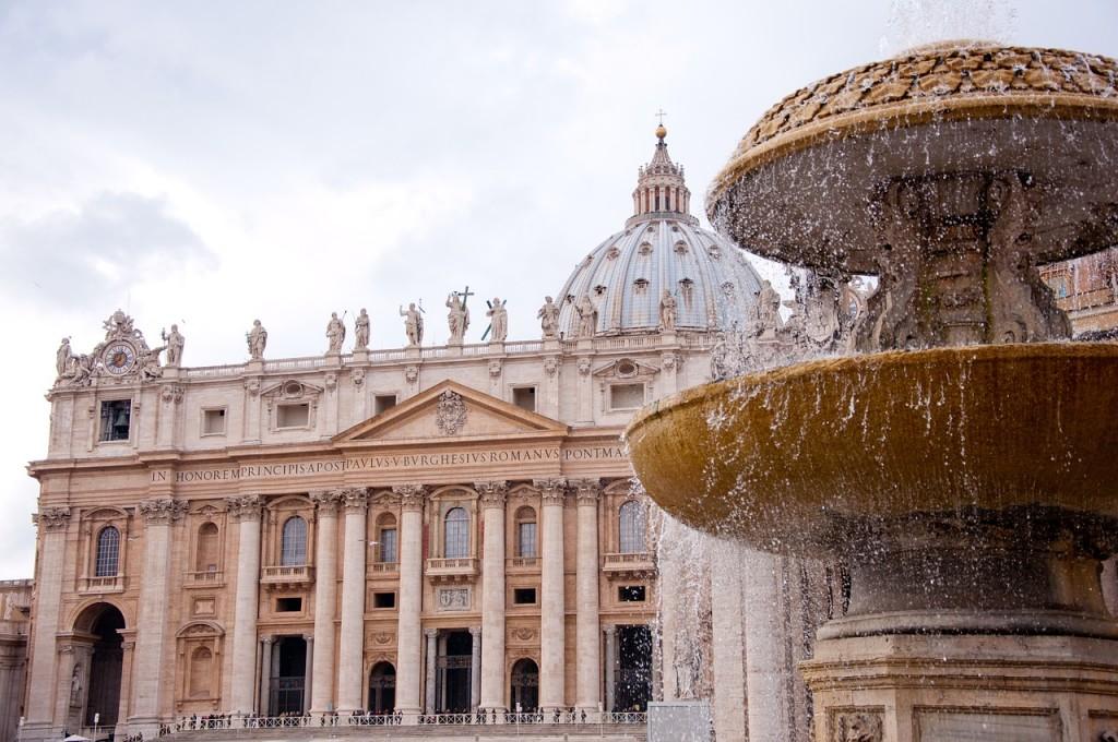 梵蒂岡聖伯多祿大教堂(來源:pixabay)