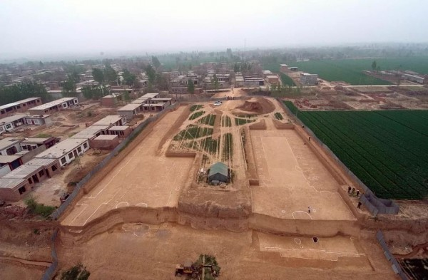 Tomb complex in Henan. (Baidu Baike image)