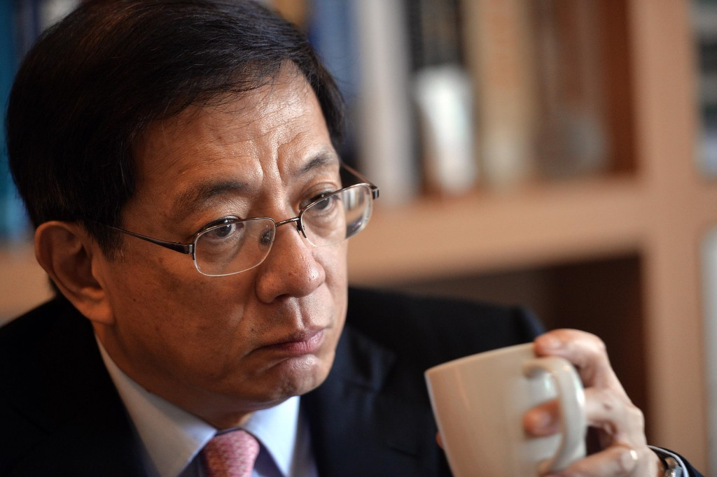 當選台灣大學新任校長的中央研究院院士管中閔