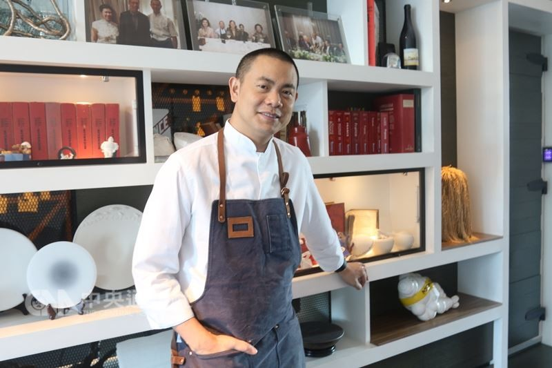 RAW chef Andre Chiang.