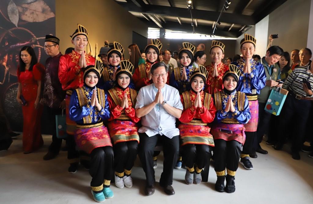桃園市長鄭文燦出席四國農業文化館記者會(圖片來源:桃園市政府提供)